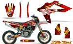 Husqvarna SMR 05 07 CreatorX Graphics Kit Little Sins Red NP Rims 150x90 - Husqvarna SM-SMR122-530 05-10 TC-TE250 05-13 TC-TE450 05-10 Graphics