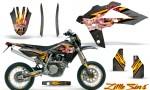 Husqvarna SMR 05 07 CreatorX Graphics Kit Little Sins Silver NP Rims 150x90 - Husqvarna SM-SMR122-530 05-10 TC-TE250 05-13 TC-TE450 05-10 Graphics