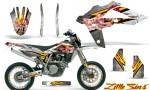 Husqvarna SMR 05 07 CreatorX Graphics Kit Little Sins White NP Rims 150x90 - Husqvarna SM-SMR122-530 05-10 TC-TE250 05-13 TC-TE450 05-10 Graphics