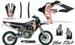 Husqvarna SMR 05 07 CreatorX Graphics Kit You Rock Black NP Rims 150x90 - Husqvarna SM-SMR122-530 05-10 TC-TE250 05-13 TC-TE450 05-10 Graphics