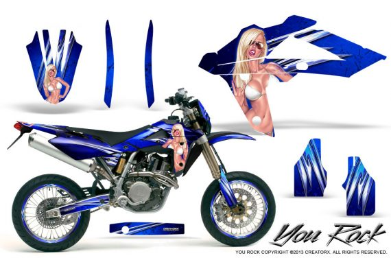 Husqvarna SMR 05 07 CreatorX Graphics Kit You Rock Blue NP Rims 570x376 - Husqvarna SM-SMR122-530 05-10 TC-TE250 05-13 TC-TE450 05-10 Graphics