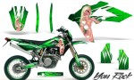 Husqvarna SMR 05 07 CreatorX Graphics Kit You Rock Green NP Rims 150x90 - Husqvarna SM-SMR122-530 05-10 TC-TE250 05-13 TC-TE450 05-10 Graphics