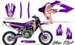 Husqvarna SMR 05 07 CreatorX Graphics Kit You Rock Purple NP Rims 150x90 - Husqvarna SM-SMR122-530 05-10 TC-TE250 05-13 TC-TE450 05-10 Graphics