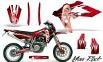 Husqvarna SMR 05 07 CreatorX Graphics Kit You Rock Red BB NP 150x90 - Husqvarna SM-SMR122-530 05-10 TC-TE250 05-13 TC-TE450 05-10 Graphics