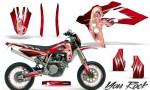 Husqvarna SMR 05 07 CreatorX Graphics Kit You Rock Red NP Rims 150x90 - Husqvarna SM-SMR122-530 05-10 TC-TE250 05-13 TC-TE450 05-10 Graphics
