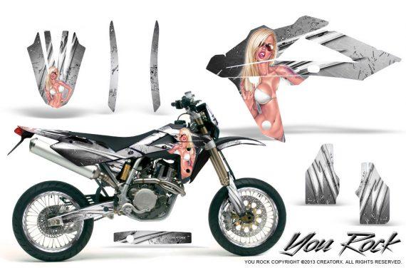 Husqvarna SMR 05 07 CreatorX Graphics Kit You Rock White NP Rims 570x376 - Husqvarna SM-SMR122-530 05-10 TC-TE250 05-13 TC-TE450 05-10 Graphics
