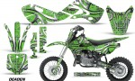 KAWASAKI KLX110 KX65 Graphic Kit Deaden G 150x90 - Kawasaki KX65 2002-2017 Graphics