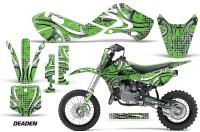 KAWASAKI-KLX110-KX65-Graphic-Kit-Deaden-G