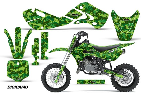 KAWASAKI KLX110 KX65 Graphic Kit Digicamo G 570x376 - Kawasaki KX65 2002-2017 Graphics