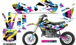 KAWASAKI KLX110 KX65 Graphic Kit Flashback 150x90 - Kawasaki KX65 2002-2017 Graphics