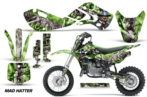 KAWASAKI KLX110 KX65 Graphic Kit Mad Hatter GS 570x376 - Kawasaki KX65 2002-2017 Graphics