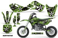 KAWASAKI-KLX110-KX65-Graphic-Kit-Northstar-G