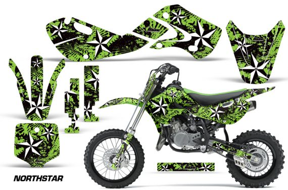 KAWASAKI KLX110 KX65 Graphic Kit Northstar G 570x376 - Kawasaki KX65 2002-2017 Graphics