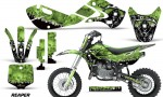 KAWASAKI KLX110 KX65 Graphic Kit Reaper G 150x90 - Kawasaki KX65 2002-2017 Graphics