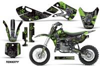 KAWASAKI-KLX110-KX65-Graphic-Kit-Toxicity-G
