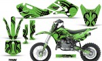 KAWASAKI KLX110 KX65 Graphic Kit Tribe KG 150x90 - Kawasaki KX65 2002-2017 Graphics
