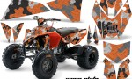 KTM 450 525 XC 08 AMR Graphic Kit CamoPlate Orange 150x90 - KTM 450/505/525 ATV Graphics