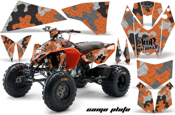 KTM 450 525 XC 08 AMR Graphic Kit CamoPlate Orange 570x376 - KTM 450/505/525 ATV Graphics