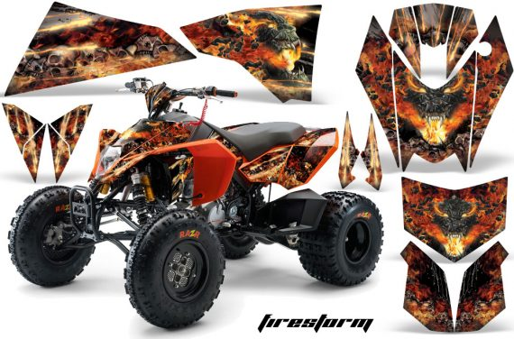 KTM 450 525 XC 08 AMR Graphic Kit Firestorm Black 1 570x376 - KTM 450/505/525 ATV Graphics