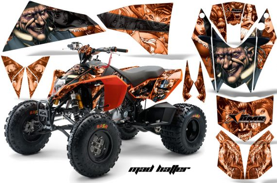 KTM 450 525 XC 08 AMR Graphic Kit MadHatter Orange Blackstripe 570x376 - KTM 450/505/525 ATV Graphics