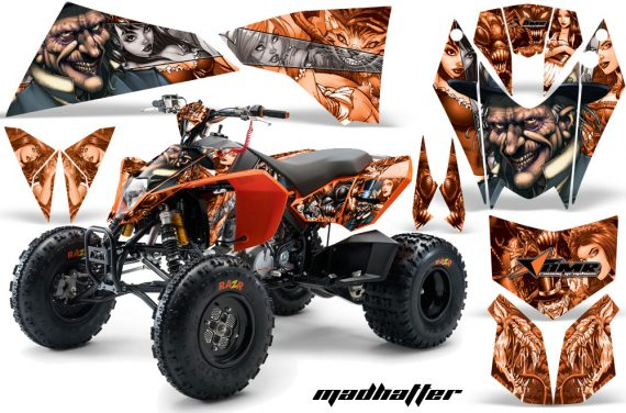 KTM 450 525 XC 08 AMR Graphic Kit MadHatter Orange Silverstripe 570x376 - KTM 450/505/525 ATV Graphics