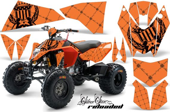 KTM 450 525 XC 08 AMR Graphic Kit Reloaded Orange BlackBG 570x376 - KTM 450/505/525 ATV Graphics