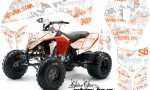 KTM 450 525 XC 08 AMR Graphic Kit SilverHaze Orange WhiteBG 150x90 - KTM 450/505/525 ATV Graphics