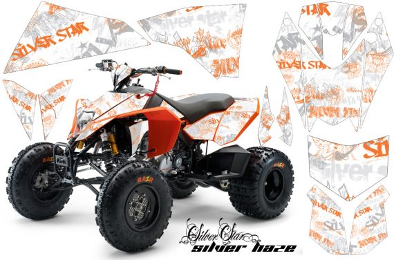 KTM 450 525 XC 08 AMR Graphic Kit SilverHaze Orange WhiteBG 570x376 - KTM 450/505/525 ATV Graphics