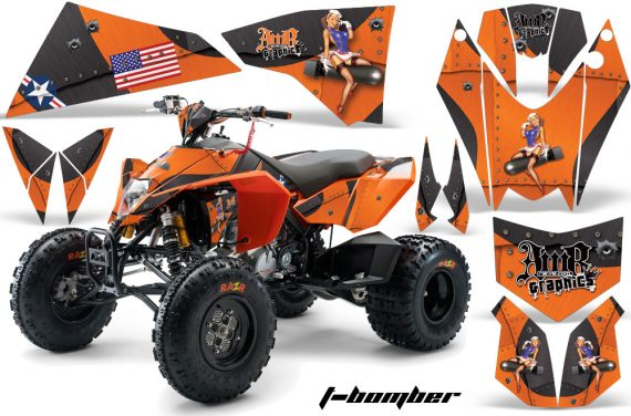 KTM 450 525 XC 08 AMR Graphic Kit TBomber Orange 570x376 - KTM 450/505/525 ATV Graphics