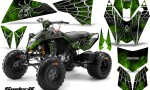 KTM 525 XC 08 SpiderX CreatorX Graphics Kit Green 150x90 - KTM 450/505/525 ATV Graphics