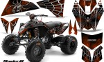 KTM 525 XC 08 SpiderX CreatorX Graphics Kit Orange BB 150x90 - KTM 450/505/525 ATV Graphics