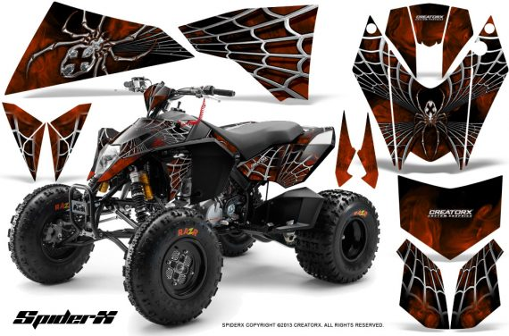 KTM 525 XC 08 SpiderX CreatorX Graphics Kit Orange BB 570x376 - KTM 450/505/525 ATV Graphics