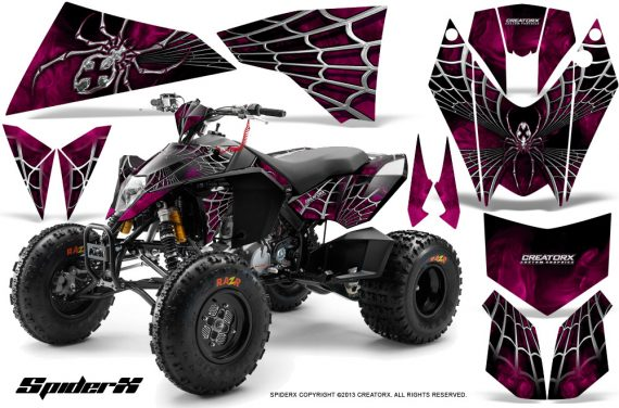 KTM 525 XC 08 SpiderX CreatorX Graphics Kit Pink 570x376 - KTM 450/505/525 ATV Graphics