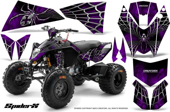 KTM 525 XC 08 SpiderX CreatorX Graphics Kit Purple 570x376 - KTM 450/505/525 ATV Graphics