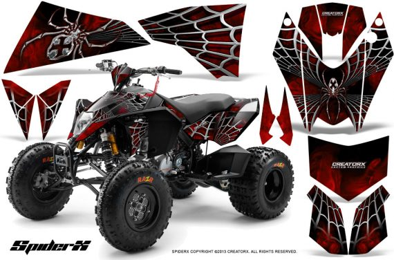 KTM 525 XC 08 SpiderX CreatorX Graphics Kit Red 570x376 - KTM 450/505/525 ATV Graphics