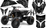 KTM 525 XC 08 SpiderX CreatorX Graphics Kit Silver 150x90 - KTM 450/505/525 ATV Graphics