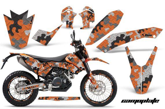 KTM 690 AMR Graphics Kit CP O NPs 570x376 - KTM Adventurer 690 Supermoto Enduro 2008-2011 Graphics