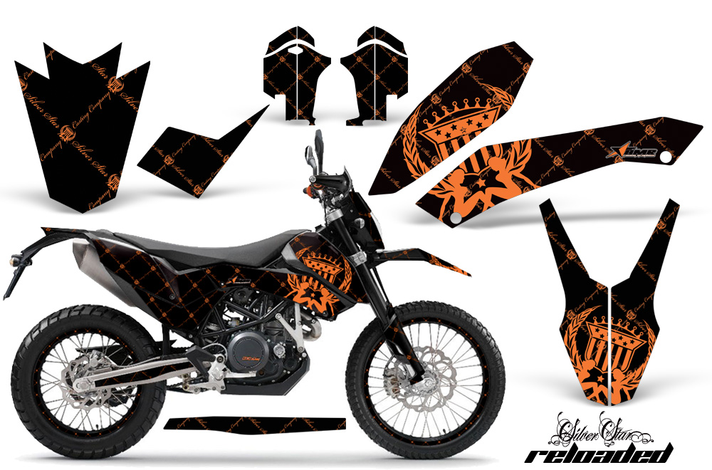 Ktm Adventurer 690 Supermoto Enduro 2008 2011 Graphics