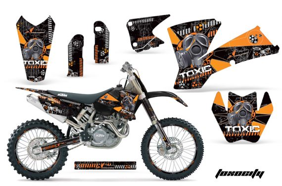 KTM C1 AMR Graphics Kit Tox OB NPs 570x376 - KTM C1 SX 2001-2004 EXC 2003-2004 Graphics