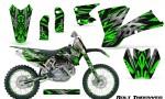 KTM C1 SX EXC MXC CreatorX Graphics Kit Bolt Thrower Green NP Rims 150x90 - KTM C1 SX 2001-2004 EXC 2003-2004 Graphics