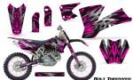 KTM C1 SX EXC MXC CreatorX Graphics Kit Bolt Thrower Pink NP Rims 150x90 - KTM C1 SX 2001-2004 EXC 2003-2004 Graphics