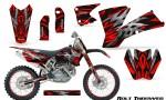 KTM C1 SX EXC MXC CreatorX Graphics Kit Bolt Thrower Red NP Rims 150x90 - KTM C1 SX 2001-2004 EXC 2003-2004 Graphics