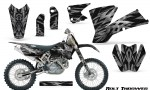 KTM C1 SX EXC MXC CreatorX Graphics Kit Bolt Thrower Silver NP Rims 150x90 - KTM C1 SX 2001-2004 EXC 2003-2004 Graphics