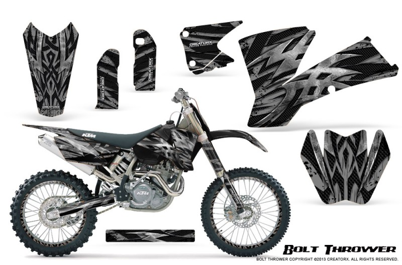 KTM-C1-SX-EXC-MXC-CreatorX-Graphics-Kit-Bolt-Thrower-Silver-NP-Rims