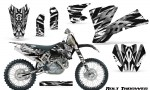 KTM C1 SX EXC MXC CreatorX Graphics Kit Bolt Thrower White NP Rims 150x90 - KTM C1 SX 2001-2004 EXC 2003-2004 Graphics