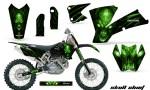 KTM C1 SX EXC MXC CreatorX Graphics Kit Skull Chief Green BB NPs Rims 150x90 - KTM C1 SX 2001-2004 EXC 2003-2004 Graphics