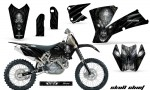 KTM C1 SX EXC MXC CreatorX Graphics Kit Skull Chief Silver BB NPs Rims 150x90 - KTM C1 SX 2001-2004 EXC 2003-2004 Graphics