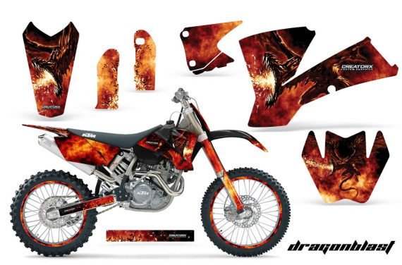 KTM C1 SX EXC MXC Dragonblast BB NP Rims 570x376 - KTM C1 SX 2001-2004 EXC 2003-2004 Graphics