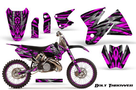 KTM C2 CreatorX Graphics Kit Bolt Thrower Pink NP Rims 570x376 - KTM C2 SX 1998-2000 125-520 EXC Graphics
