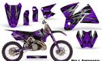 KTM C2 CreatorX Graphics Kit Bolt Thrower Purple NP Rims 150x90 - KTM C2 SX 1998-2000 125-520 EXC Graphics